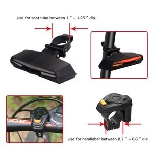 Wireless Bicycle Rear Light la
