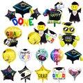Выпускной 2020 globos воздушные шары на выпускной Выпускной вечеринка Декоративный воздушный шар поздравление удачи Выпускной шары из фольги