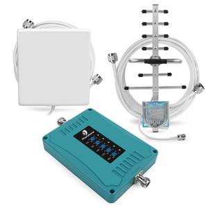 Image 4 - 2g 3g 4g Gsm Cellular Signal Booster Repeater 700 900 1800 2100 2600mhz Five Band GSM WCDMA UMTS LTE Repeater Amplifier 4g Kit