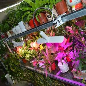 Image 5 - Luz LED Deformable para cultivo, 75W, E27, 2 modos de luz solar de espectro completo y Lámpara de cultivo de plantas de espectro rojo/azul para semillas de plantas