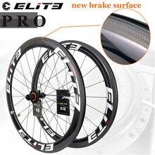 Elite PRO 700c Road Bike Carbon Wheels Bicycle Wheelset 20-24H 30 35 38 45 47 50 55 60 88mm Tubular Clincher Tubeless Cycling цена 2017