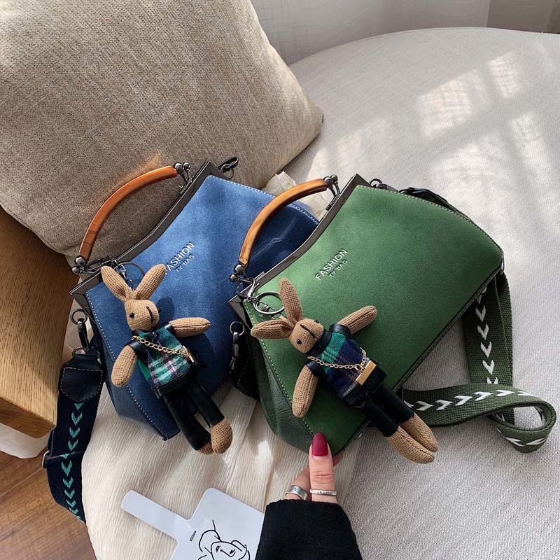 Ladies Female Bag Women's Shoulder Handbags Clutch Cartoon Messenger Bag Women Leather Bags Large Designer Bag 2019 Luxury Brand
