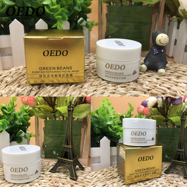 Hot Face Cleansing Mung Bean Mud Peeling Acne Blackhead Treatment Mask Remover Contractive Pore Whitening Hydrating Care Creams 5