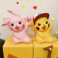 40cm Big Pikachu Statue Model Takara Tomy Japan Anime Pokemon Doll Action Figure Children Christmas Gifts Toys Hobby Collections