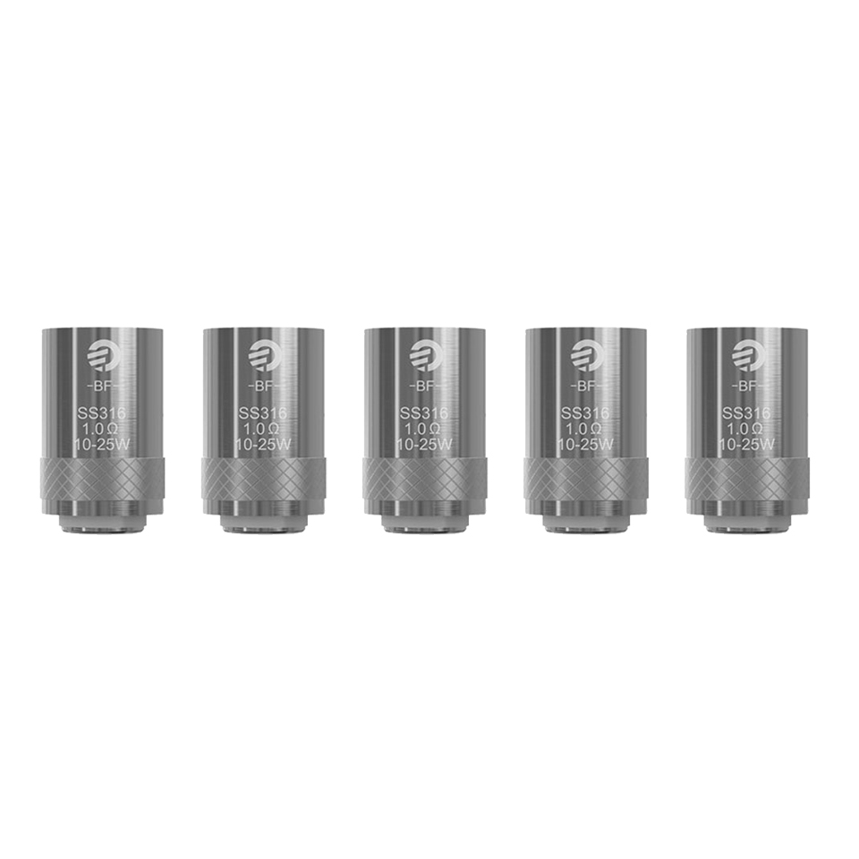 [Clearence] Joyetech BF 1.0ohm SS316 MTL 0.25OHM Notch Replacement Coil E-Cigarette Accessories For CUBISeGO AIO Kit (1)