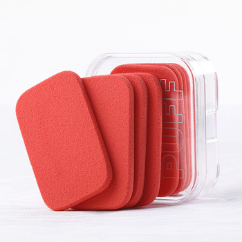 Zoran Puff Wet And Dry Dual Purpose Makeup Sponge Face Powder Makeup Rectangular 4 PCs Assembly Storage Box 1