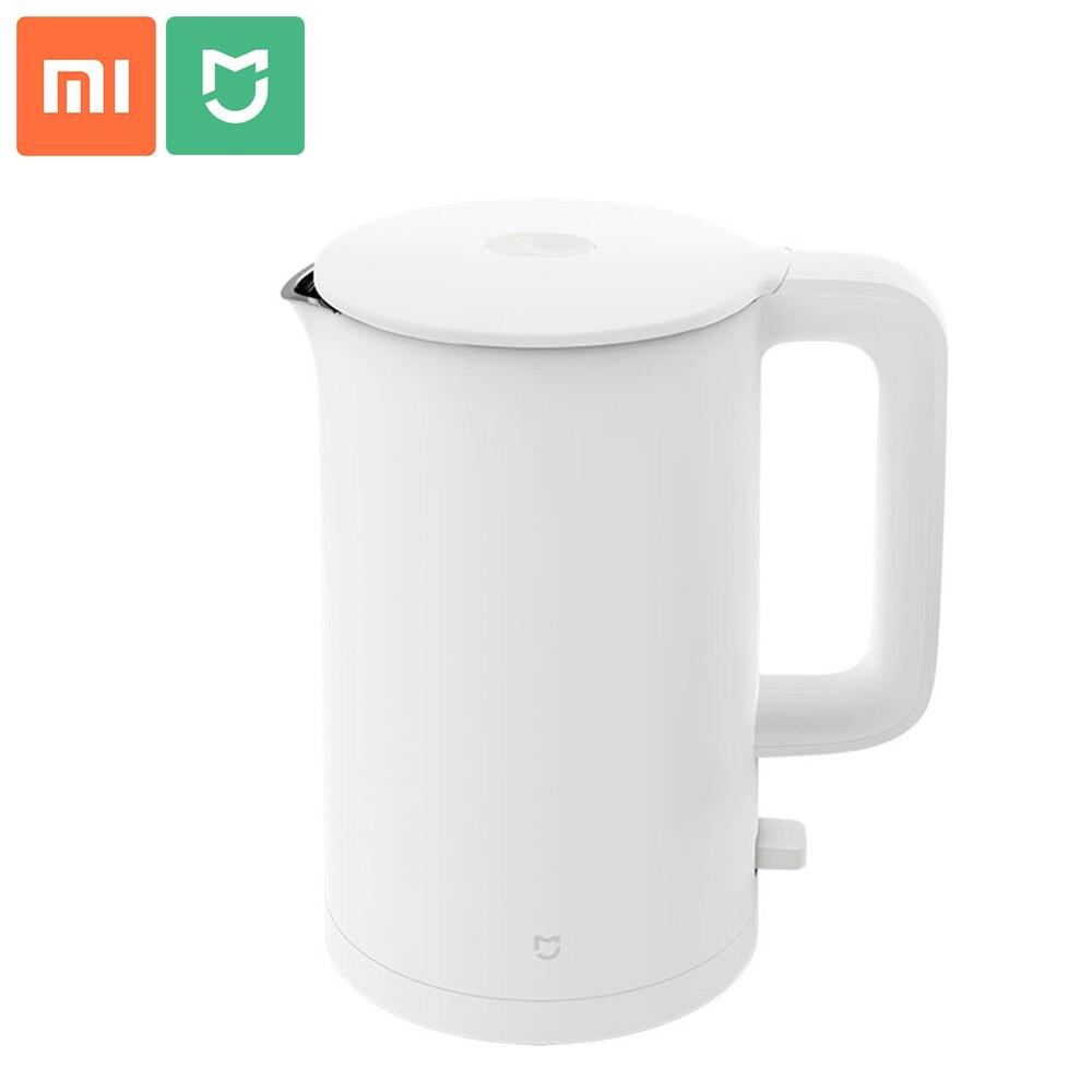 2020 yeni XIAOMI MIJIA elektrikli su ısıtıcısı 1A 1.5L anında ısıtma mutfak aletleri elektrikli su ısıtıcısı otomatik çaydanlık su ısıtıcısı