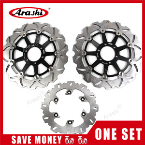 Image 1 - Arashi 1 Set For YAMAHA FZS FAZER 600 1998 1999 2000 2001 2002 2003 CNC Front Rear Brake Disc Rotor FZR XJR 400 TDM 850 TRX 850