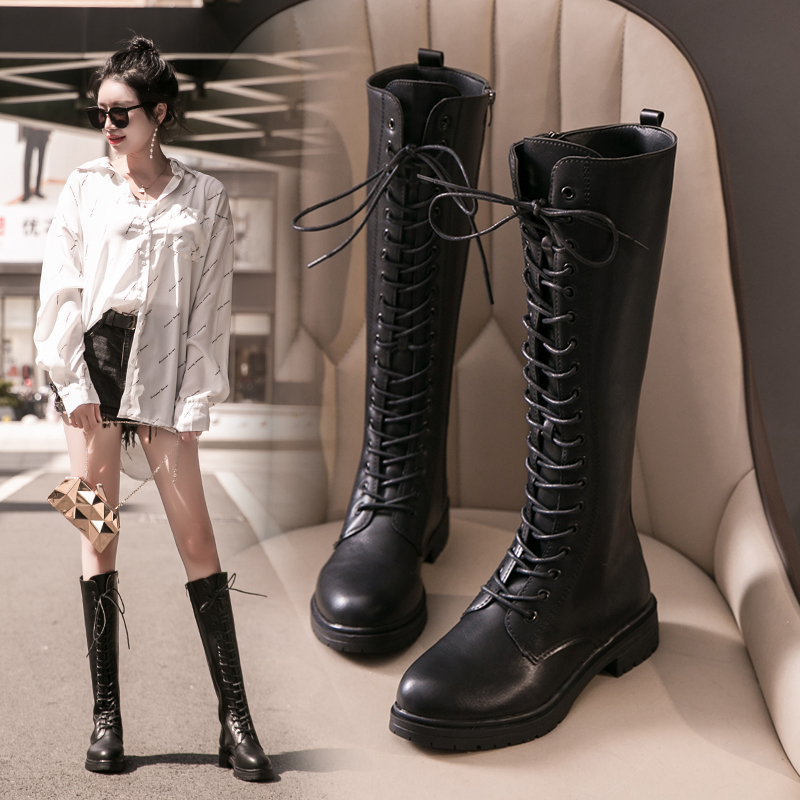 2019 Sexy Slim Women's Wedges Over The Knee Boots Brand High Heels Platform Boots Slip on Winter Boots Shoes Woman Boot image