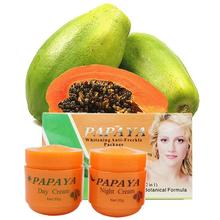 2pcs Beauty Papaya Exfoliating Cream Scrub Peeling Gel Face Body Skin Moisturizing Face Whitening Cream Hand Body Care