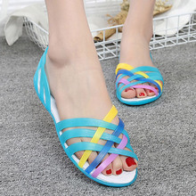 Jelly Shoes New Women Sandals Comfort Women Shoes