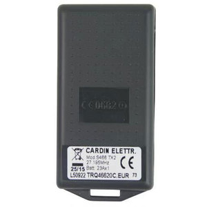 Image 2 - CARDIN S466 TX2 27.195 mhz Remote Control Replacement Clone Fob 27.195mhz New