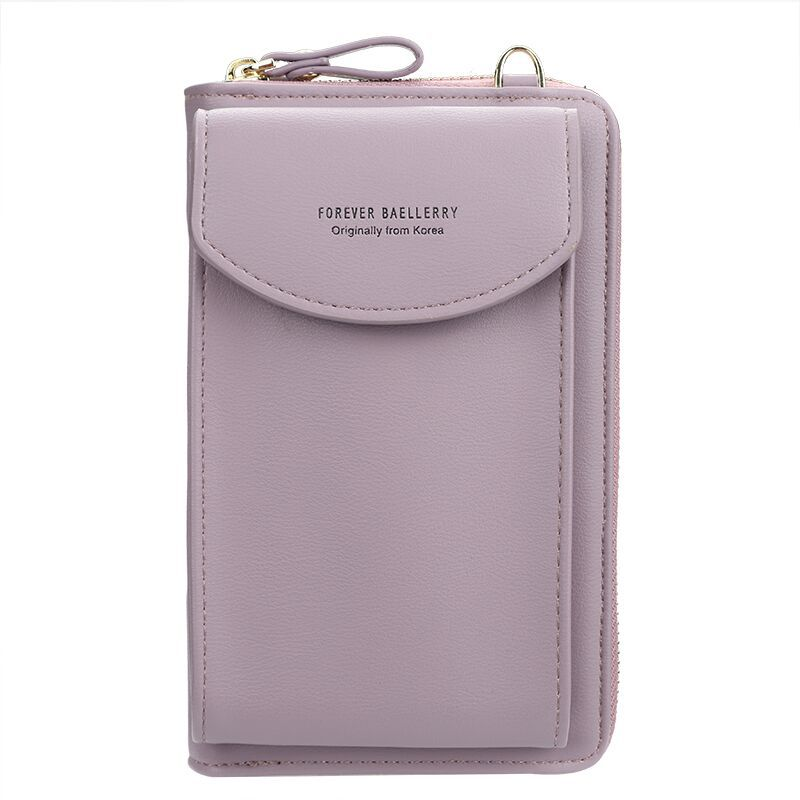 2020 Women Wallet Famous Brand Cell Phone Bags Big Card Holders Handbag Purse Clutch Messenger Shoulder Long Straps Dropshipping 6