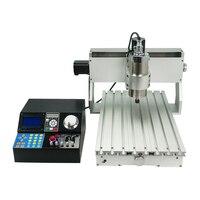 3020 Mini CNC Router 800W 3 achse/4 achsen Maschine Für DIY Arbeits Holz PCB Metall|Holzfräsemaschinen|   -