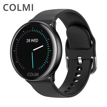 COLMI SKY 2 Astuto della vigilanza IP68 impermeabile Monitor di Frequenza Cardiaca di Bluetooth di Sport di fitness tracker Uomo Smartwatch Per iOS Android