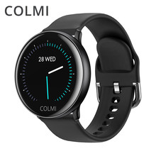 COLMI SKY 2 Smart watch IP68 waterproof Heart Rate Monitor Bluetooth Sport fitness tracker Men Smartwatch For iOS Android(China)