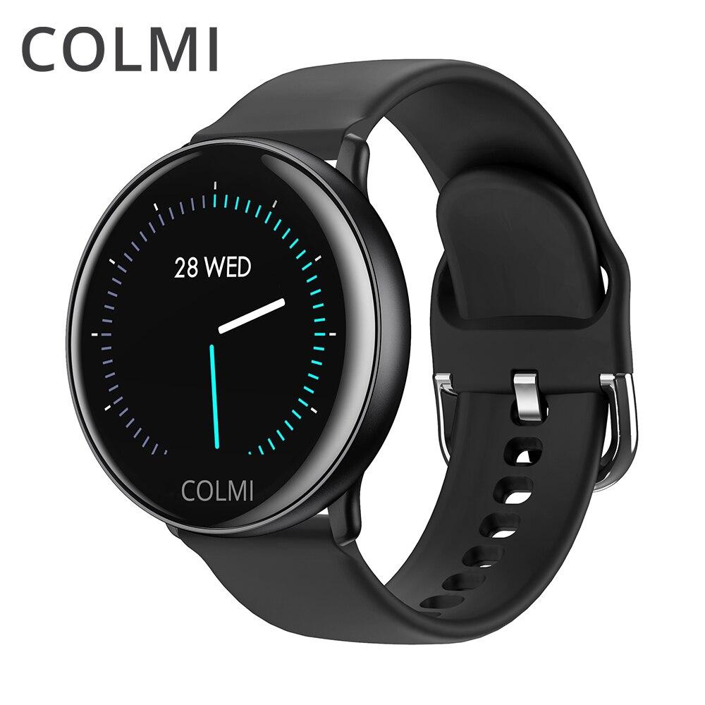 Montre intelligente COLMI SKY 2 IP68 étanche moniteur de fréquence cardiaque Bluetooth Sport fitness tracker hommes Smartwatch pour iOS Android