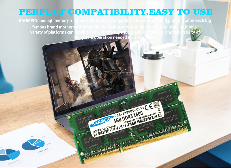 KANMEIQi DDR3 Laptop Memory With 2GB 4GB 8GB And 1333Mhz 1600MHZ 1866MHZ 11
