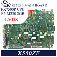Scheda madre del computer portatile di KEFU X550ZE per ASUS X550ZE X550Z K550Z VM590Z scheda madre originale FX7500P R5-M230 2GB