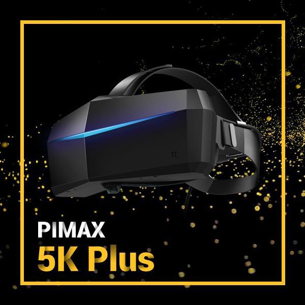 120HZ On Sale Limited Pimax 5K PLUS Ultrawide 200FOV VR PC Headsets 5K VR