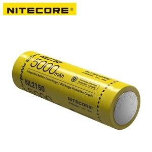 Image 4 - NITECORE NL2150 NL2145 NL2140 3.6V 21700 rechargeable Li ion battery