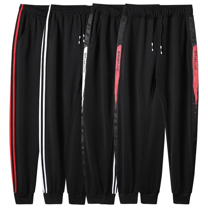 Autumn Hot Selling Men's Gradient Printed Casual Pants Trend Sports Skinny Trousers Korean-style Slim Fit MEN'S Trousers