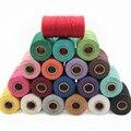 100 м/рулон, цветная хлопковая нить, «сделай сам», ручная плетеная веревка, тонкий хлопковый шнур, тканый гобеленовый шнур, веревка для перепл...