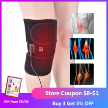 Knee Brace Physiotherapy Heating Therapy Knee Support Brace Old Cold Leg Arthritis Injury Pain Rheumatism Rehabilitation(China)