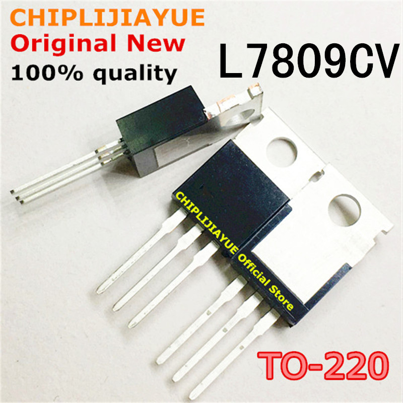 10PCS L7809CV L7809 TO220 7809 LM7809 MC7809 TO-220 New And Original IC Chipset