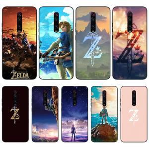 LJHYDFCNB легенда о Зельде новое поступление черный чехол для телефона для Redmi 6 4X 7 7A 8 GO K20 Note 4 4X 5 5A 6 6 Pro 7 8 8pro