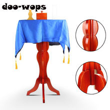 Floating Table Mult-Function + Anti Gravity Box Flower Pot Candlestick Magic Tricks Magician Stage Gimmick Illusions Fly Magia shaun flower table magic tricks for professiona magician stage appearing feather flower blooms table comedy illusion