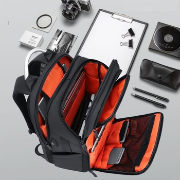 Водонепроницаемый большой рюкзак 17,3 дюймов Сумка для ноутбука Мужская Дорожная 17 дюймов рюкзак для ноутбука большие сумки для путешествий ...