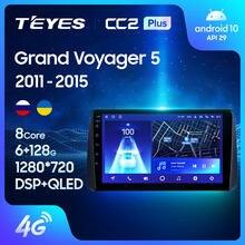 TEYES CC2L CC2 Plus For Chrysler Grand Voyager 5 2011 - 2015 Car Radio Multimedia Video Player Navigation GPS No 2din 2 din dvd