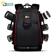 wholesale free shipping  NOVAGEAR 80404 big one Professional digital camera bag slr anti-theft  camera backpack fashion