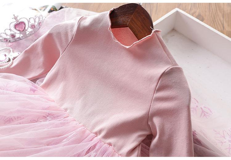 2020 Baby Girl Fashion Clothing Set Cute  Dress girls Infant Elegant Clothes Sets Children Party Birthday Wear 3