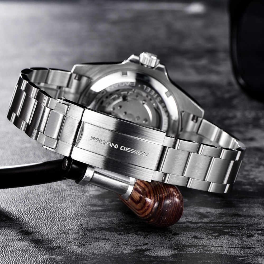 2020 パガーニデザイントップブランドの高級自動機械式時計男性ステンレススチール防水ビジネスレロジオmasculino PD-1639