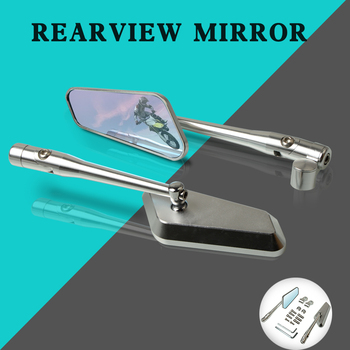 Rear View Mirror Motorcycle CNC Aluminum Rearview Mirror For Kawasaki Ninja 400 500R 650 ABS 650R H2R ZX-6R W800/SE Accessories
