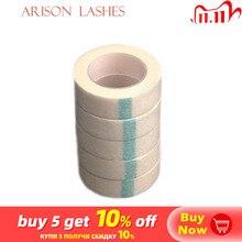 Клейкая лента из нетканой ткани для наращивания ресниц 5 шт.