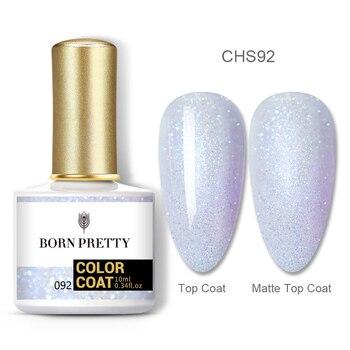 BORN PRETTY Nail Gel 120Colors 10ml Gel Nail Polish Soak Off UV LED Gel Varnish Holographics Shining Nagel Kunst Gellack 36