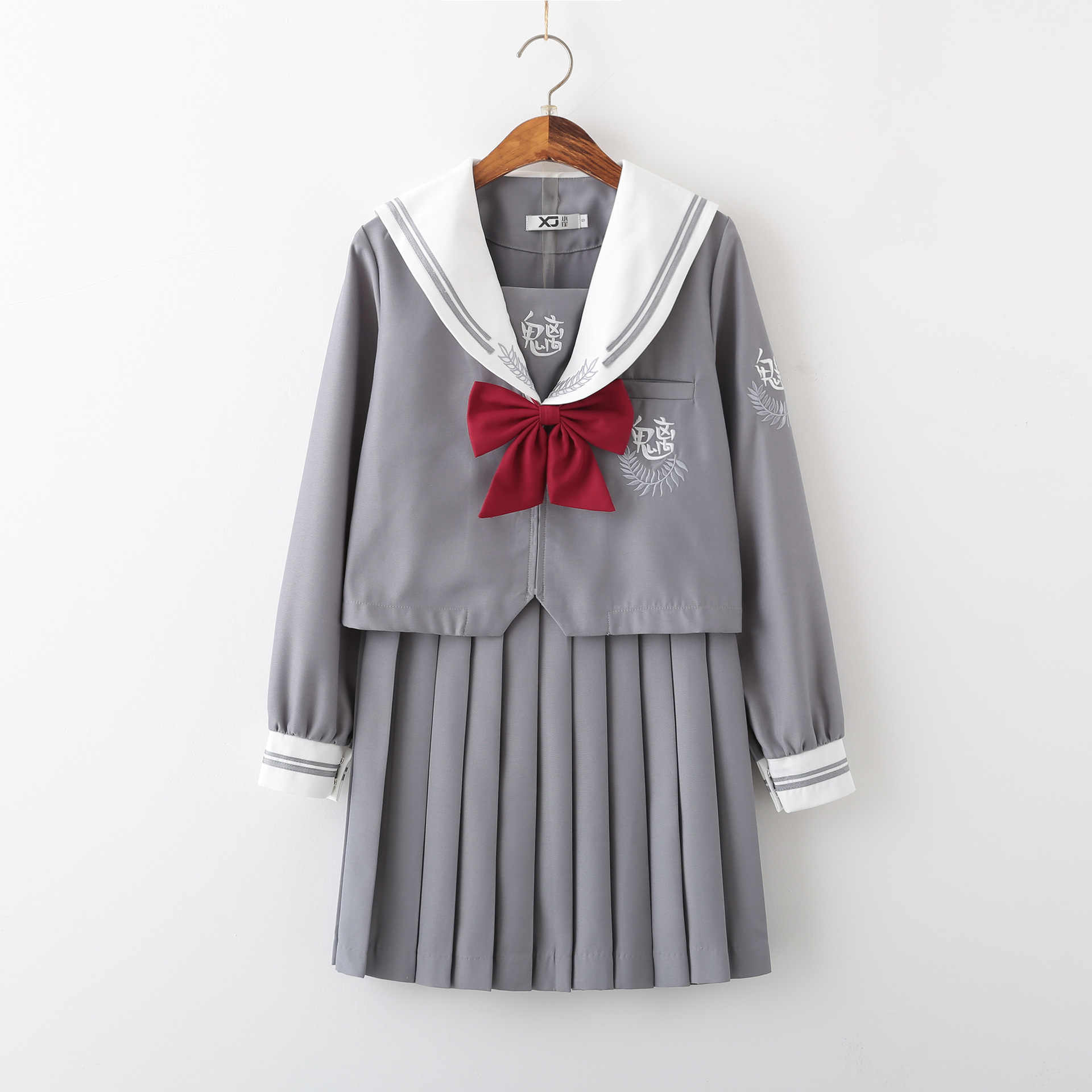 新到着日本 jk 制服女の子正教会カレッジスタイル秋高校女性ノベルティセーラースーツ制服