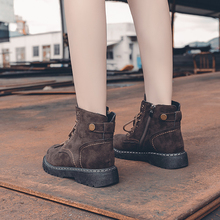 Women Boots Leather Shoes For Winter Boots Shoes Platform Ladies Warm Shoes Woman Casual Spring Botas Mujer Female Ankle Boots цены онлайн