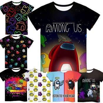 Cartoon Tee  Baby Kids Boys Girls Children Short Sleeves Summer Clothing Fashion 3d Print Toddler Camiseta 1