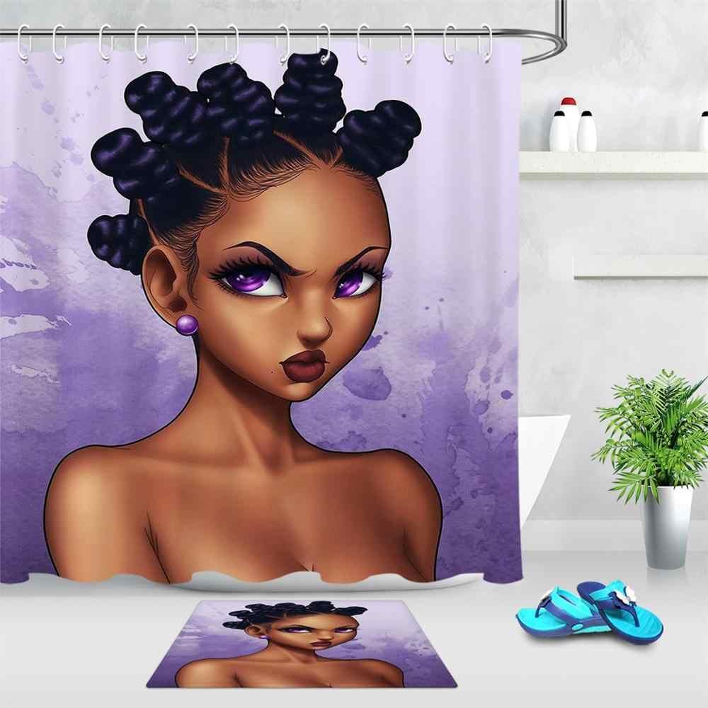 beautiful fashion afro black girl