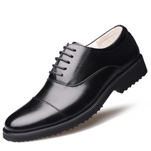 New Fashion Oxford Casual Business Men Shoes Genuine Leather