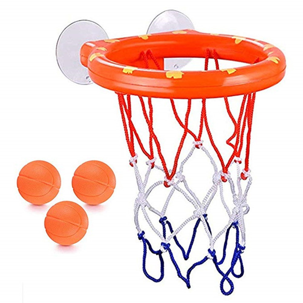 Funny Kids Basketball Hoop Bathtub Water Play Set For Baby Educational Mini Gift Foam Beach Swimming Pool Toddler Bath Toys