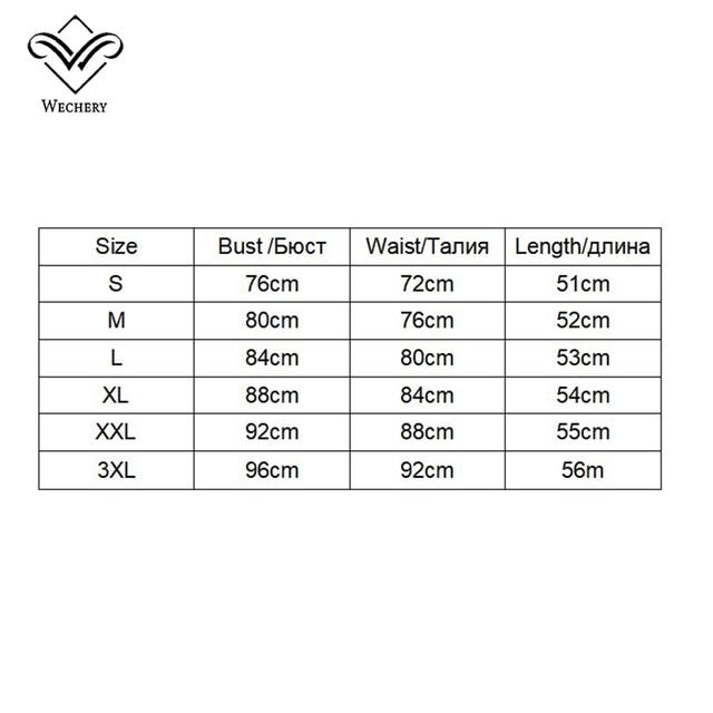 Wechery Slimming Body Shaper Tops Tummy Control Belt Women Modeling Strap Sweat Sport Clothes Neoprene Shapewear Flat Belly 5