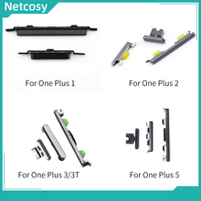 Netcosy Power Button + Volume Button For Oneplus 1+ 1 A0001 2 A 2005 3 A3000 3T A3010 5 A5000 Buttons Replacement Parts cheap CN(Origin) For Oneplus 1 2 3 3T 5 Metal Brand new with high quality Checked twice before shipped 100 high quality!