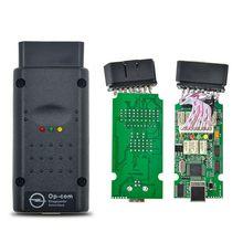 Mais novo OBD2 OBD OP-COM OPCOM V1.70 V1.78 V1.59 com PIC18F458 para Opel OP com Ferramenta de Diagnóstico Do Carro V1.7 Software Livre Autoscanner