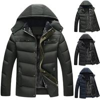 down jacket men brand Coats Down Jacket Men Fall Winter Portability Warm 90% White Duck Down Hooded Man Coat пуховик мужской