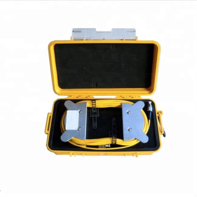 STS826 Fiber Optic OTDR Tester launching Cable Box 1km otdr launch cable box 500m otdr launch cable